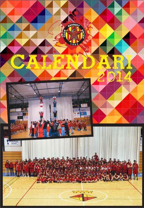 Portada del calendari 2014